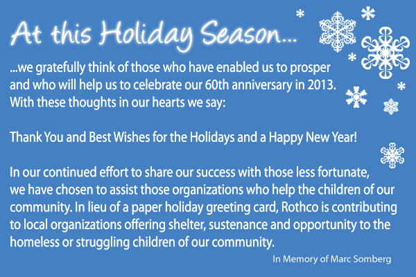 Happy Holidays From Rothco